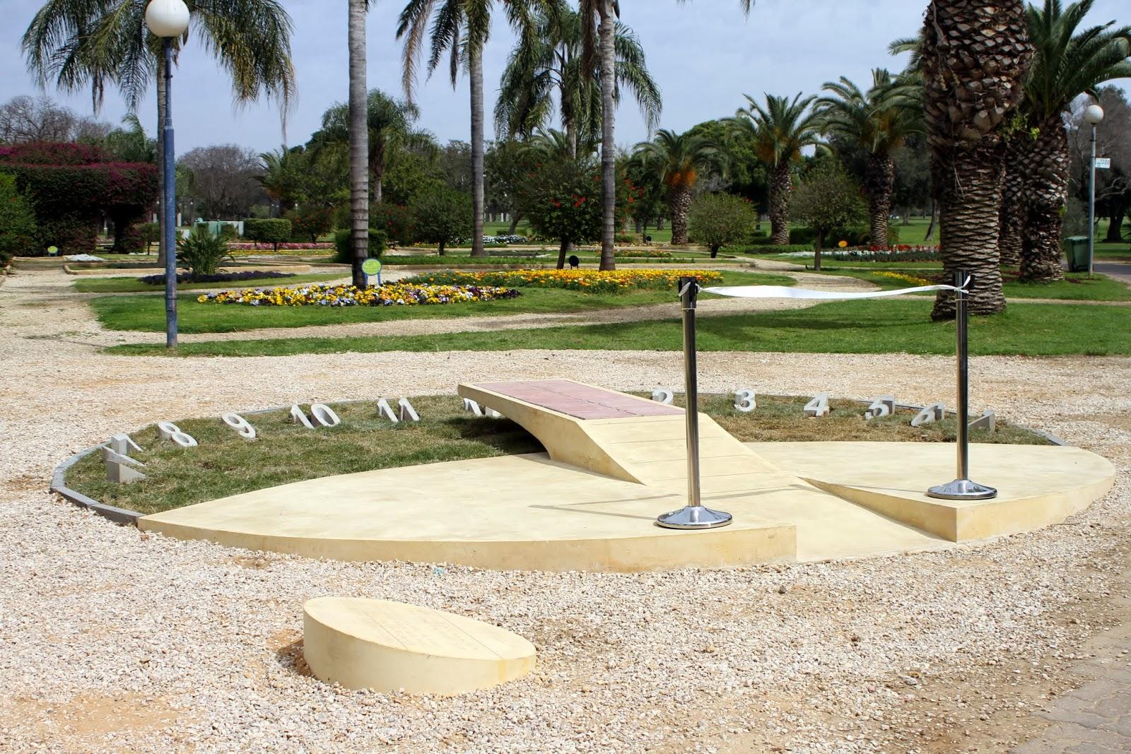 Sundial in Ramat-Gan