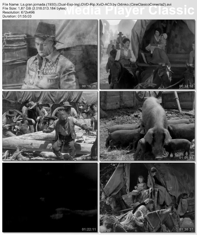 La gran jornada | 1930 | The Big Trail | Secuencias de la película DVD