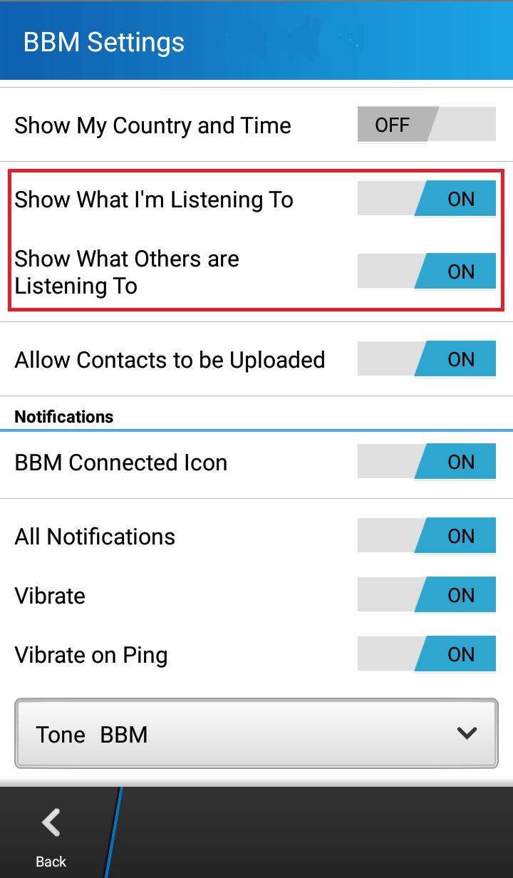 Cara Memunculkan Status Musik Di BBM Android Review Smartphone