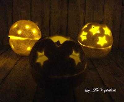 Come fare suggestive lanternine con arance intagliate - night 3 - MLI