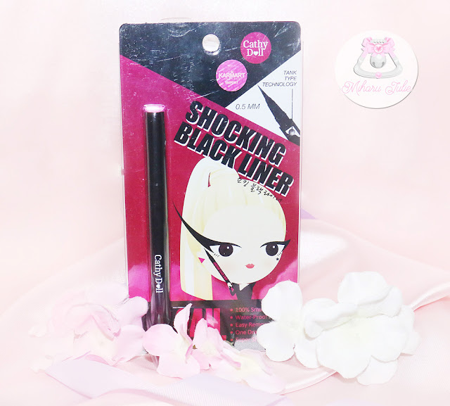 Cathy Doll Shocking Black Liner Review