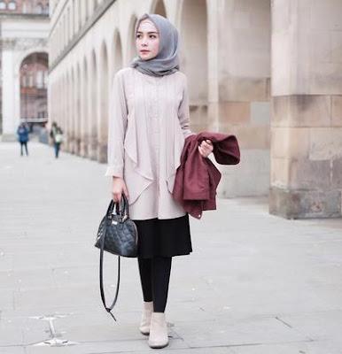 Beberapa Trend Fashion Muslimah dari Artis Indonesia