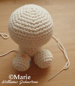 Crochet Amigurumi Legs Together : CraftyMarie: Making an Amigurumi Crochet Unicorn