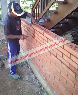 Jual Batu Bata Expose / Ekspos Harga Murah | Bata Gapura | Cocok Untuk Dinding Cafe Dan Resto