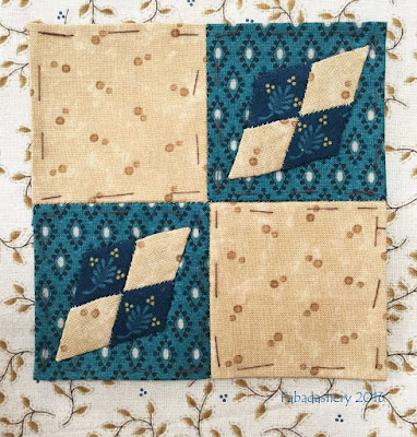 Dear Jane Quilt - Block K5 Passing Through