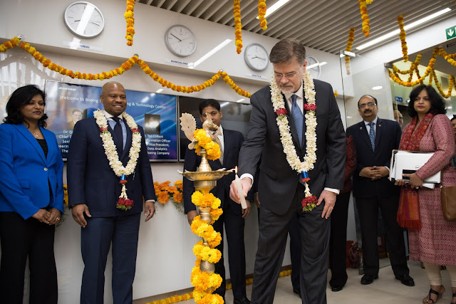 Boeing Announces Launch of Engineering & Technology Center in Bangalore
