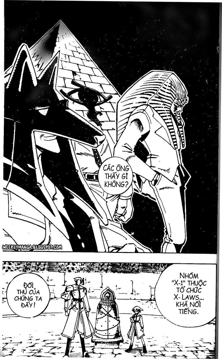Shaman King [Vua pháp thuật] chap 121 trang 6