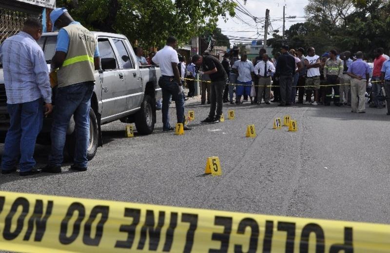 Matan delincuente hirió a coronel y tres sargentos en Santo Domingo Oeste