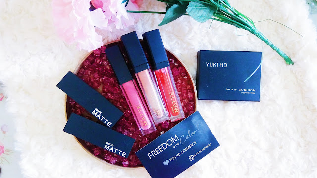 YUKI HD COSMETICS FIRST IMPRESSION & BRAND AMBASSADRESS
