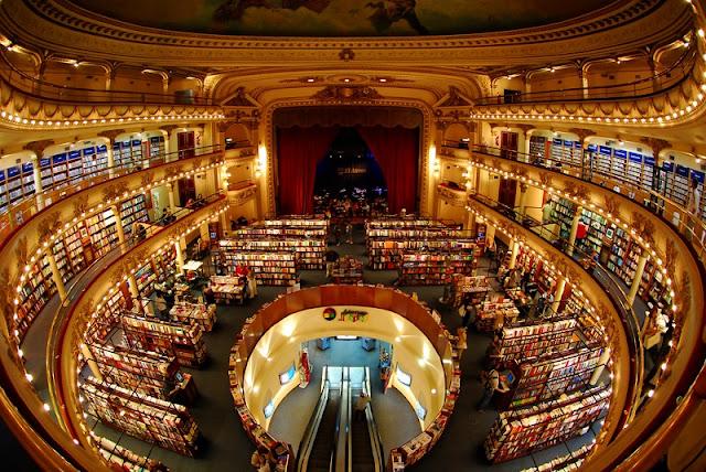 Passeio gratuito Livraria El Ateneo Grand Splendid