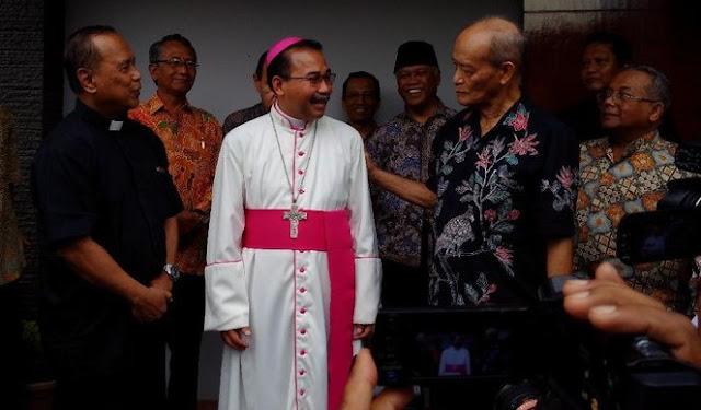 Uskup Agung Semarang Sowan Buya Syafii