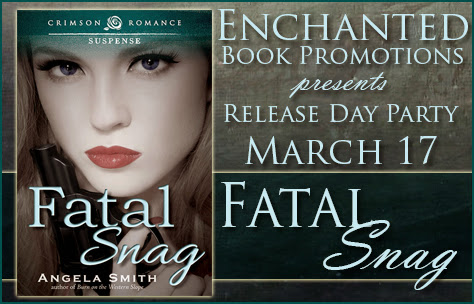 Showcasing Fatal Snag by Angela Smith