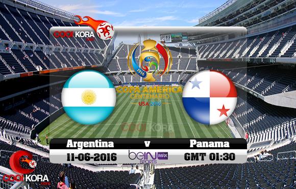 مشاهدة مباراة الأرجنتين وبنما اليوم 11-6-2016 كوبا أمريكا