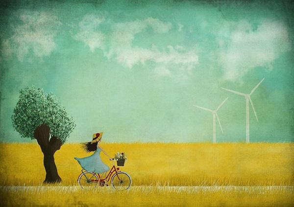 por Maja Lindberg | ilustraciones imaginativas, sentimientos y emociones, imagenes bonitas, illustration art, cool stuff.