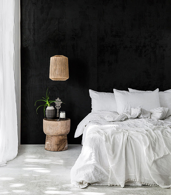 Beautiful interior design in this inspiring bedroom - found on Hello Lovely Studio