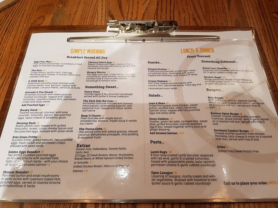 expresso-warrior-parramatta-menu