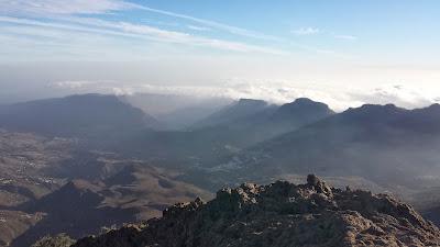 Vistas de la Caldera de Tirajana