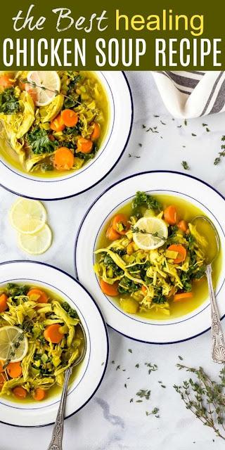 Healing Chicken Soup Recipe