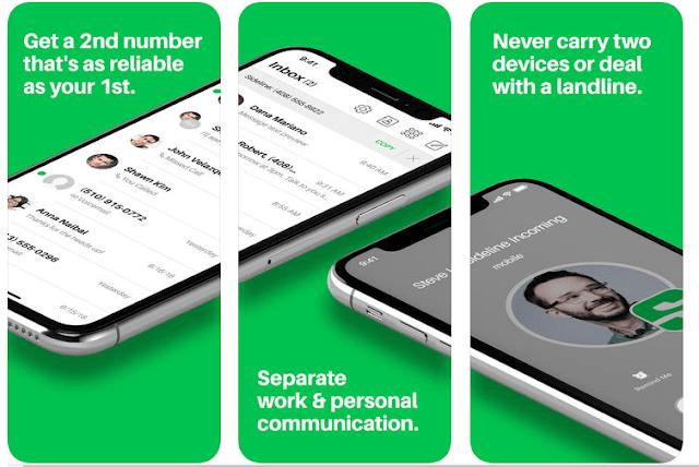 افضل 3 برامج للحصول على رقم امريكي 2018 لتفعيل الواتس اب غير محدود للاندرويد والايفون