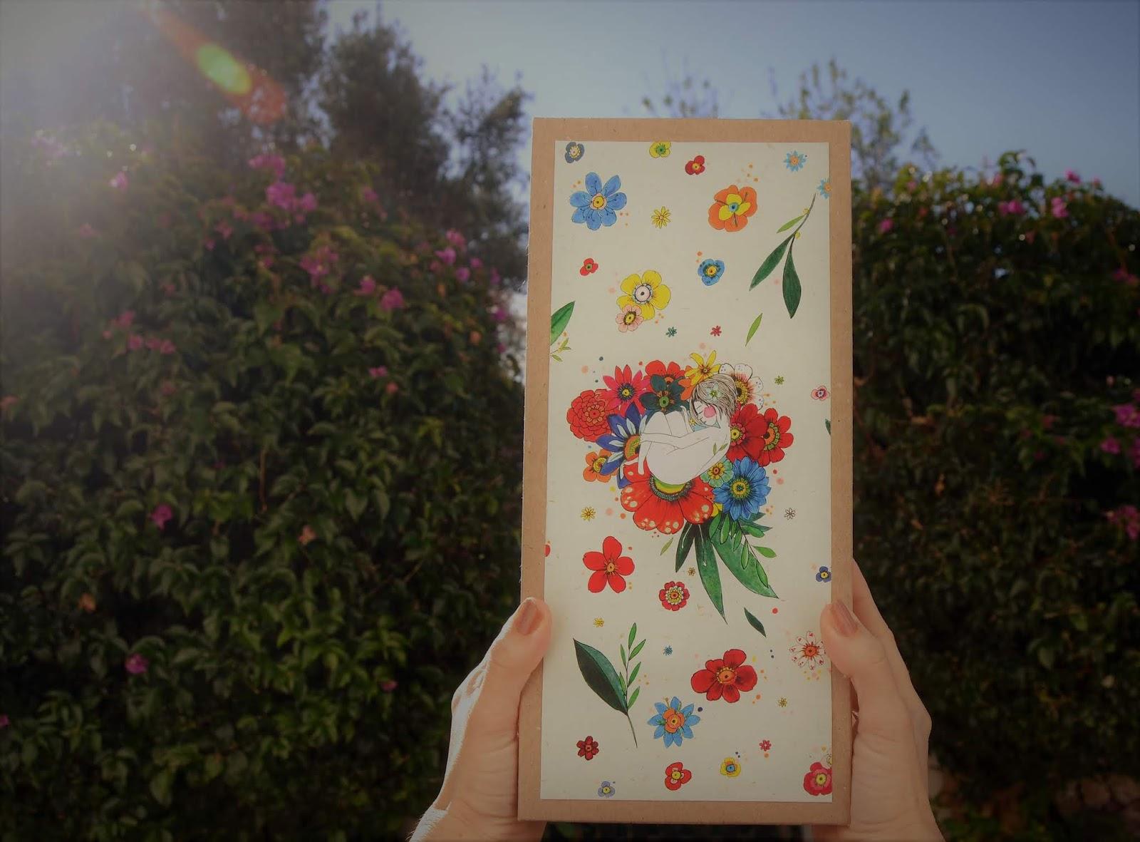 La Caja, tras la ultima flor, un regalo inolvidable, la ultima originalidad de Verónica Maraver