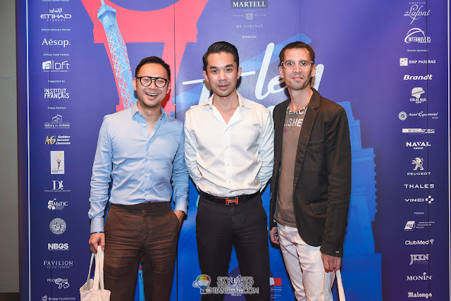 Le French Film Festival 2018 Launching at GSC Pavilion KL, Malaysia - Happy faces