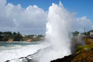 Spouting Horn Depoe Bay Oregon USA
