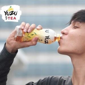 Kesegaran Buah Yuzu Tea Dalam Kemasan Botol