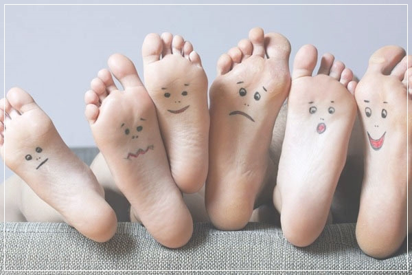 These symptoms of the feet can make you lucky