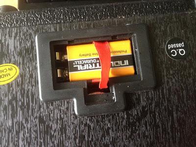 Daphon GA-1 Amplifier Review BAttery