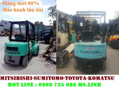 Xe nâng dầu Mitsubishi 2t-3m, 2. 5t-3m, mới 85% thanh lý ( cho thuê ) giá tốt