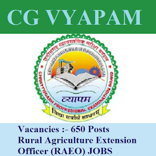 Chhattisgarh Professional Examination Board, CGVYAPAM, Chhattisgarh, Graduation, Extension Officer, freejobalert, Sarkari Naukri, Latest Jobs, cgvyapam logo