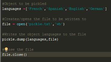The Python Pickle | Python and Gabe