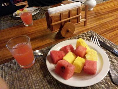 Desayuno en el Hotel Heliconia