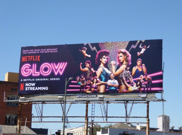 Glow season 1 billboard
