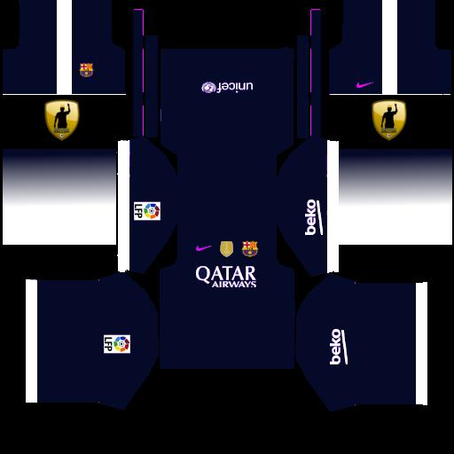 06996eab8f3 Dream League Soccer 2015 Kits Fc Barcelona ✓ T Shirt Design 2018