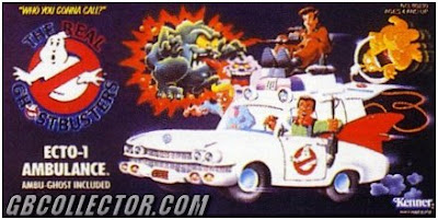 The REAL Ghostbusters Kenner Ecto-1 Vehicle