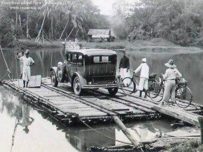 Transportasi Antar Pulau Feri Zaman Dulu