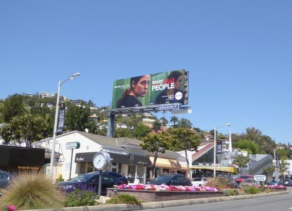 Mary Kills People TV billboard