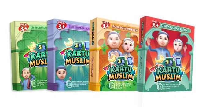 Paket Bundle Kartu Muslim - Metode Pembelajaran Anak Mengenal Agama