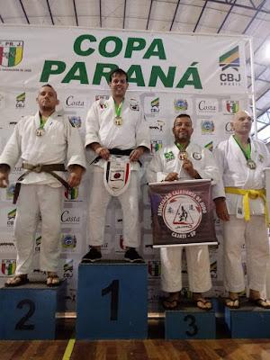 Associação Cajatiense de Judô traz muitas medalhas da Copa Parana de Judô