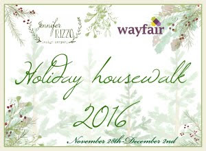 Jennifer Rizzo's Holiday House Walk - 2016