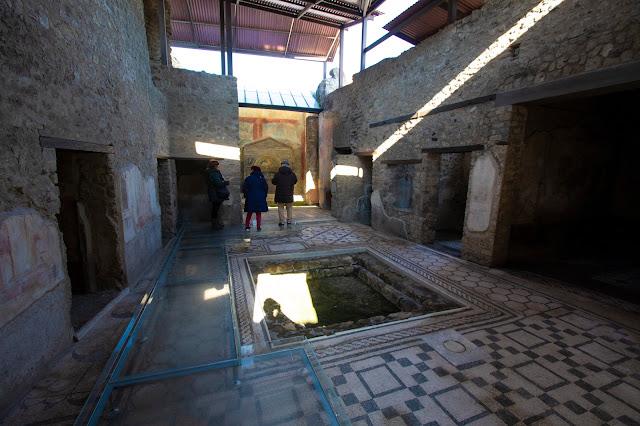 Casa dell'orso ferito-Scavi di Pompei