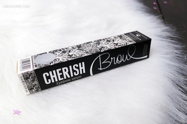 Кондиционер для роста бровей Cherish Brow Cherisher отзывы обзор свотчи до и после