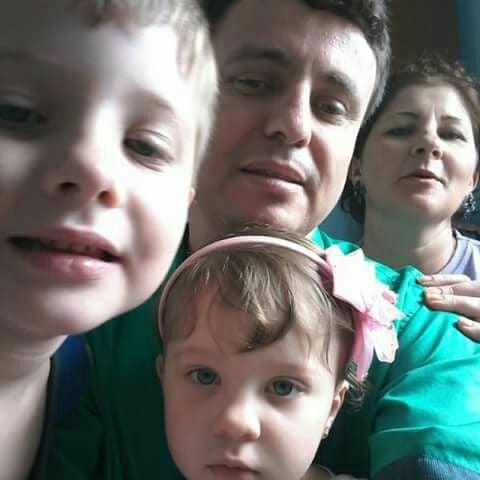 Jonas e Clarice Sommer, e seus filhos Paula e Marcos