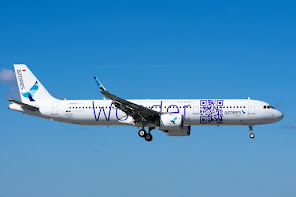 Latest A321N, for Azores