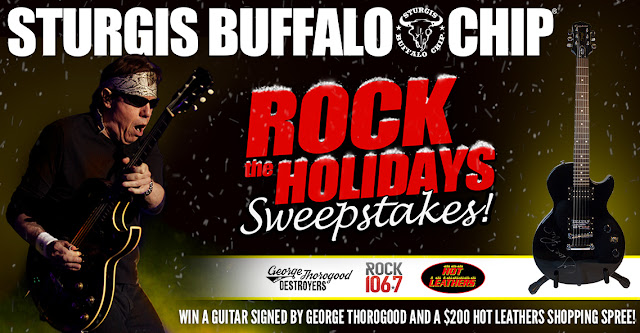 STURGIS ROCK THE HOLIDAYS SWEEPSTAKES