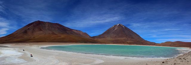 La Laguna Verde, una de las 'Joyas Alto Andinas' del recorrido por el suroeste de Bolivia