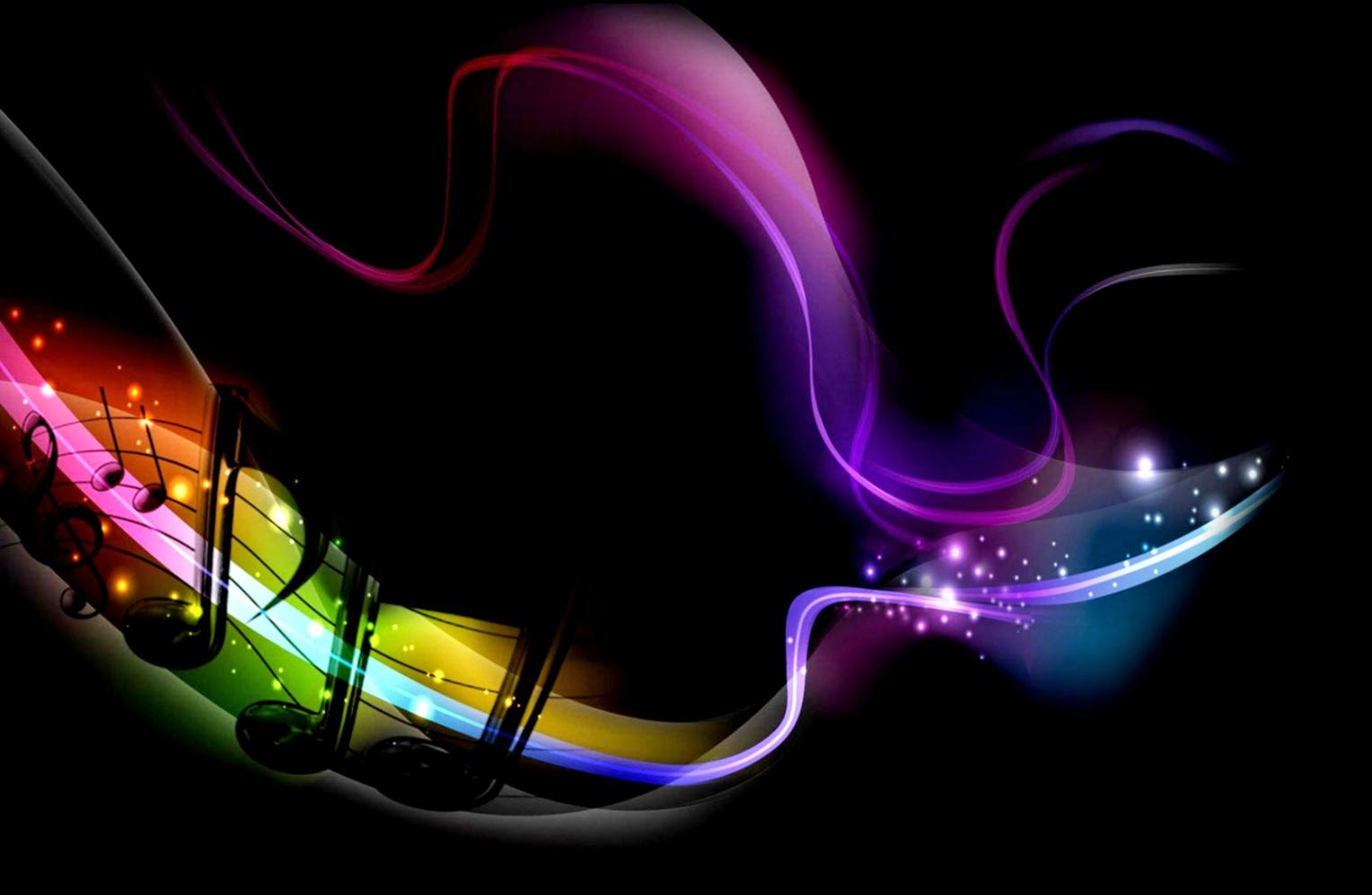 Amazing Music Wallpapers: Colorful Music Wallpapers