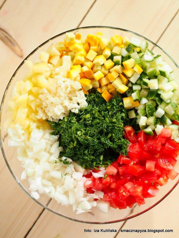 salsa kiszona, salatka kiszona, kiszonki domowe, zakis w domu, kiszone warzywa, pzretwory kiszone,