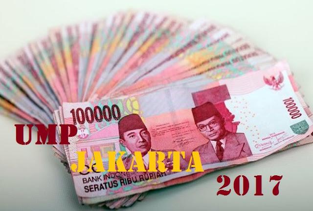 UMP JAKARTA 2017 Terbaru Teken Gubernur